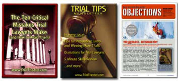 Trial lawyers: Improve your jury trial skills with these free trial advocacy reports