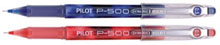 (2) 99� Pilot P-500 pens (one red, one blue)