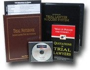 Persuade jurors and win more trials with the Complete Trial Lawyer Success System