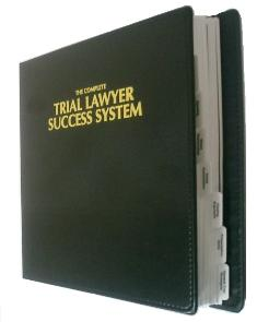 Trial Lawyer Success System (tab view)